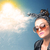 良い · 悪い · 雲 · 春 · 太陽 · 自然 - ストックフォト © ra2studio