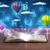 open book with glowing fantasy abstract clouds and balloons stock photo © ra2studio