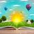 libro · abierto · verde · naturaleza · mundo · fuera - foto stock © ra2studio