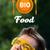 молодые · голову · глядя · здоровое · питание · знак - Сток-фото © ra2studio