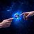 kezek · Isten · Föld · tart · kép · űr - stock fotó © ra2studio