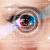 mulher · olho · olhando · moderno · negócio · menina - foto stock © ra2studio