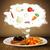 chef · salade · plaat · fastfood · restaurant · mensen · eten - stockfoto © ra2studio
