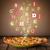 pizza · ayarlamak · farklı · tablo · arka · plan · akşam · yemeği - stok fotoğraf © ra2studio