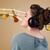 genç · kadın · kulaklık · güzel · kadın · müzik - stok fotoğraf © ra2studio