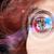 mulher · olho · olhando · moderno · menina · segurança - foto stock © ra2studio