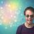 genç · güneş · gözlüğü · bokeh · renkli · ışıklar · adam - stok fotoğraf © ra2studio