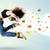 mooie · vrouw · springen · kleurrijk · edelstenen · meisje - stockfoto © ra2studio