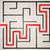 elveszett · üzletember · út · labirintus · piros · nyíl - stock fotó © ra2studio