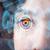 toekomst · vrouw · technologie · oog · paneel · computer - stockfoto © ra2studio
