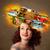 sanat · albüm · renkli · kâğıt - stok fotoğraf © ra2studio