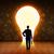 homem · de · negócios · idéia · lâmpada · mão · homem · luz - foto stock © ra2studio