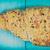 croissant · kék · asztal · háttér · kenyér · ital - stock fotó © radub85
