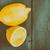 Fresh Yellow Lemons On Wooden Table stock photo © radub85