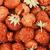 raspberry and strawberry pile in fruit market stock photo © radub85