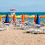 guarda-sol · colorido · areia · praia · céu · sol - foto stock © rafalstachura