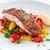 mariscos · salmón · porción · hortalizas · peces · cena - foto stock © rafalstachura