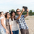 group of young adult friends taking selfie stock photo © rafalstachura