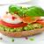 сэндвич · авокадо · черный · хлеб - Сток-фото © rafalstachura