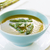 asparagus soup in a bowl with fresh cream and dill stock photo © rafalstachura