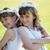 comunhão · meninas · vestido · branco · dia · primeira · comunhão · menina - foto stock © rafalstachura