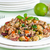 risotto · frango · legumes · branco · prato · verde - foto stock © rafalstachura
