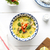 thai soup with coconut milk and chicken meat on white table stock photo © rafalstachura