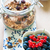 healthy breakfast with granola and fresh fruits stock photo © rafalstachura