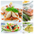 mediterranean food collage stock photo © rafalstachura