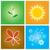seizoenen · winter · voorjaar · zomer · najaar - stockfoto © rafalstachura