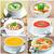 コレクション · 野菜 · 肉 · 魚 · サワークリーム - ストックフォト © rafalstachura