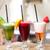 üç · renkli · tablo · taze · cam · gıda - stok fotoğraf © rafalstachura
