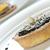 mini · chocolat · tarte · haut · fond - photo stock © rafalstachura