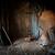 csőr · belső · halszem · kilátás · fából · készült · űr - stock fotó © rafalstachura