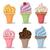 vector cupcakes stock photo © ramonakaulitzki