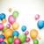 vektor · léggömbök · absztrakt · színes · fény · születésnap - stock fotó © RamonaKaulitzki