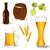conjunto · cerveja · elementos · diferente · assinar · bar - foto stock © ramonakaulitzki