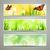 soyut · vektör · afişler · dekoratif · doğa · bahar - stok fotoğraf © RamonaKaulitzki