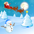 ベクトル · 雪だるま · 飛行 · サンタクロース · クリスマス · 実例 - ストックフォト © ramonakaulitzki