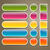 web · icon · variatie · zes · knop · heldere · kleuren - stockfoto © ramonakaulitzki