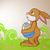 вектора · Пасху · кролик · весны · искусства · оранжевый - Сток-фото © RamonaKaulitzki