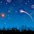 вектора · день · фейерверк · небе · вечеринка · Skyline - Сток-фото © RamonaKaulitzki