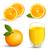 vektör · turuncu · meyve · elemanları · ayarlamak · taze · olgun - stok fotoğraf © RamonaKaulitzki