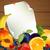 Vector Background with Fruits stock photo © RamonaKaulitzki