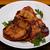 domuz · eti · beyaz · plaka · yağ · akşam · yemeği · maydanoz - stok fotoğraf © raptorcaptor