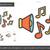 loudspeaker line icon stock photo © rastudio
