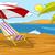 Lounge · пляж · лет · день · небе · пейзаж - Сток-фото © rastudio