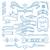 いたずら書き · スクロール · セット · 手描き · 装飾的な · 要素 - ストックフォト © rastudio