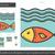 fish line icon stock photo © rastudio