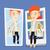 vrouw · kleding · kleedkamer · jonge · vrouw · naar · spiegel - stockfoto © rastudio